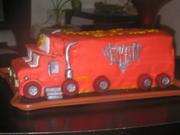 10th - Mac Truck Cake