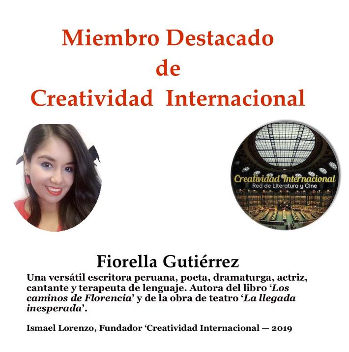 Miembro destacado Fiorella Gutierrez
