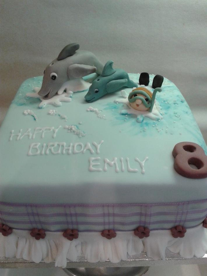dolphin cake 1