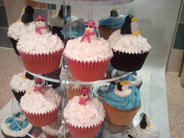 Copy of Winter Wonderland Cake 3