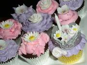 Garden Princess cupcakes