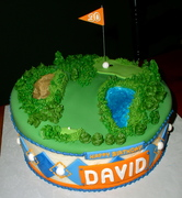 Golf Cake - 625F