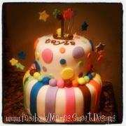 colorfulbdaycake