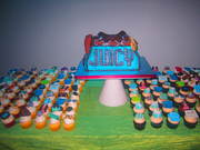 Juicy Couture Bage Cake and fashion cupcakes