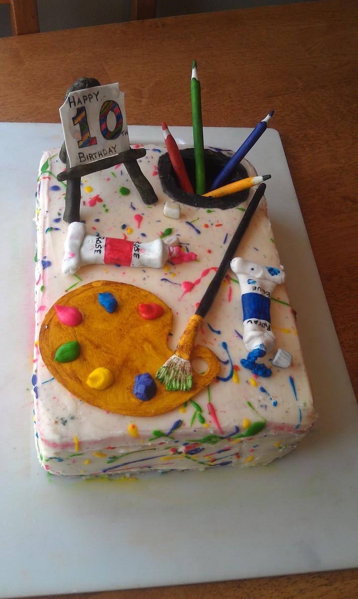 Cake for an Artist