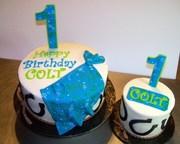 Cowboy Birthday with matching Smash Cake