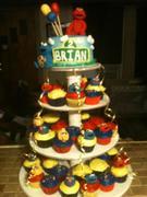 Sesame Street cupcake tiers