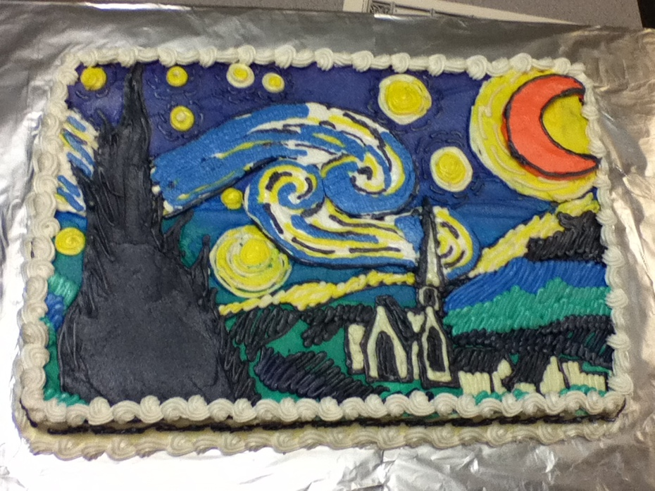 "Starry Starry Night... ""The Cake"""
