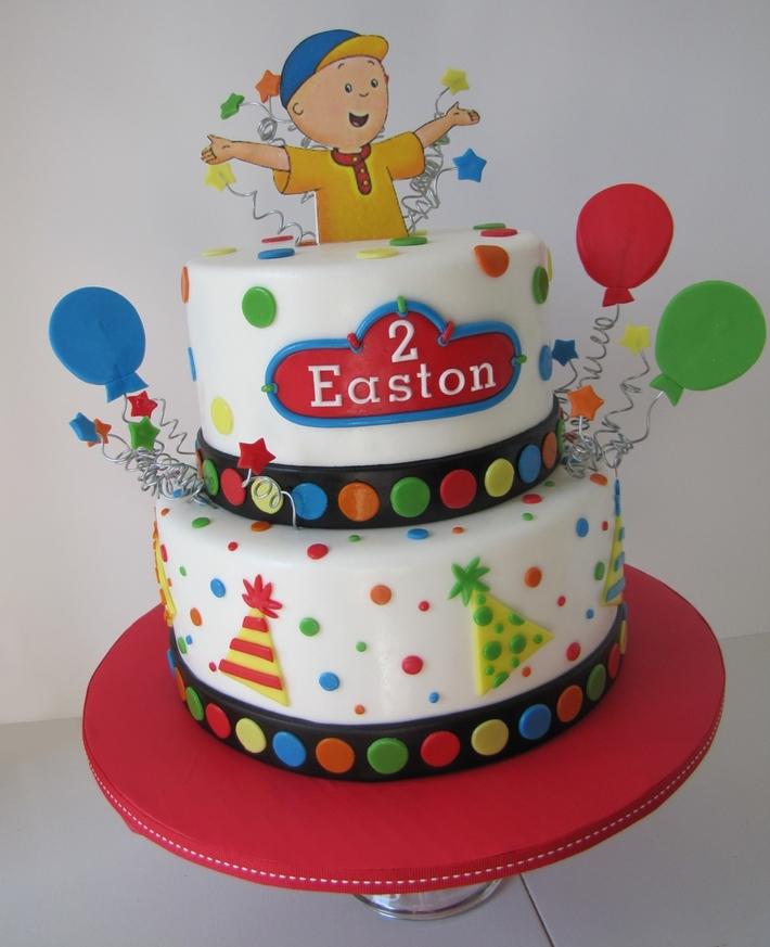 Caillou Birthday Cake