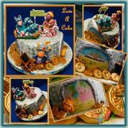 Movers of Arabia Backyardigans-themed Birthday Cake 1119F