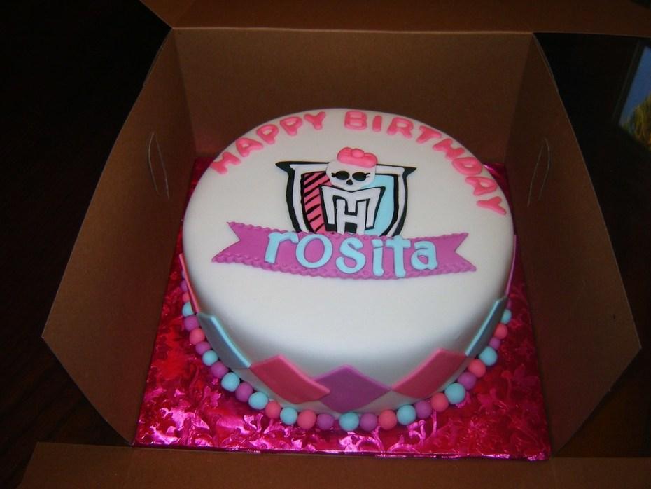 Terrific Monster High Birthday Cake Cake Decorating Community Cakes We Bake Funny Birthday Cards Online Fluifree Goldxyz
