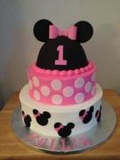 Minni Mouse 1st Birthday