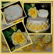 Billows 'n Bloom-themed Reunion Cake - 114F