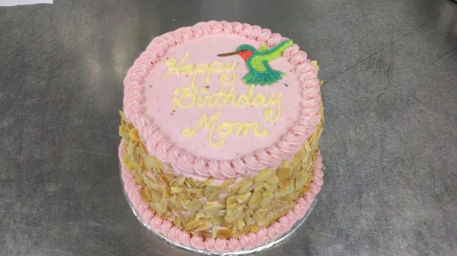 Awe Inspiring Moms Birthday Cake Cake Decorating Community Cakes We Bake Personalised Birthday Cards Vishlily Jamesorg