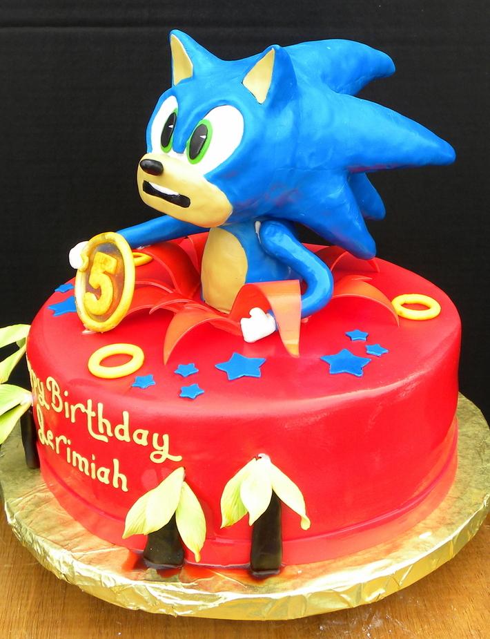 Sonic The Hedgehog Cake 3 Cake Decorating Community Cakes We Bake