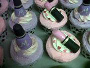 Choc/Vanilla Pamper Party Cupcakes