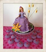 Fondant Fetish - Rapunzel Doll cake