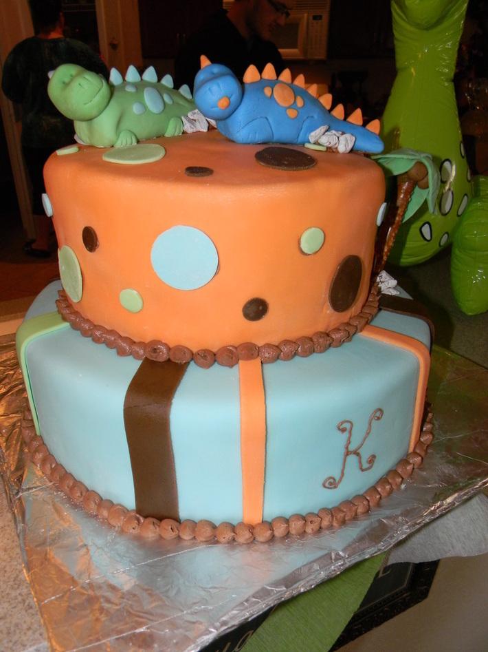 Dinosaur Baby Shower Cake - Cake Decorating Community ...