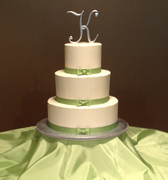 Rob and Jaime's Wedding cake