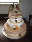 Native Wedding Cake