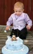 Fondant Fetish - Monkey you christening cake