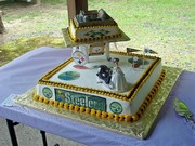 Steelers wedding cake