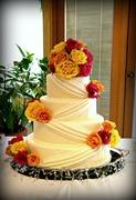 My sister's wedding cake
