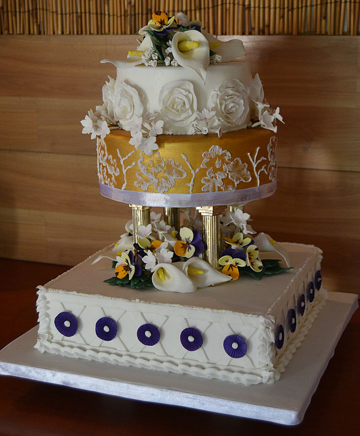 Competition Wedding Cake Novice Class