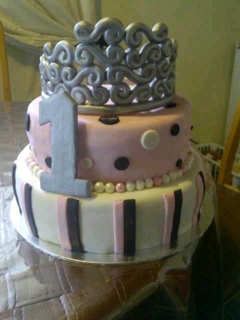 Excellent 1St Birthday Princess Cake Cake Decorating Community Cakes We Bake Funny Birthday Cards Online Kookostrdamsfinfo