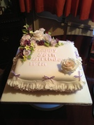 85th Birthday cake for Win
