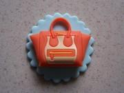 Cupcake Topper Mini Purse