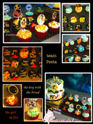 THE HUNGER GAMES CAKE & CUPCAKES