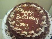 My son Joey's birthday cake November 15, 2013