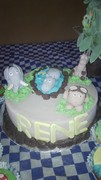 Africa Animals Cake