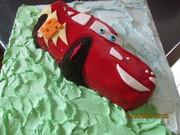 Speed McQueen Cake