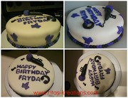 Justin Bieber Themed Cake
