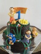 first birhday cake