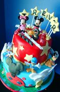 Mickey Mouse Clubhouse Birthday Cake for Trevor