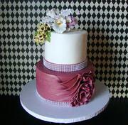 Sandra's Birthday Cake