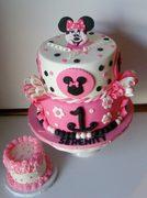 Minnie Birthday Cake for Serenity