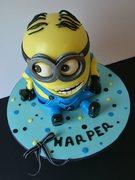 Minion Birthday Cake
