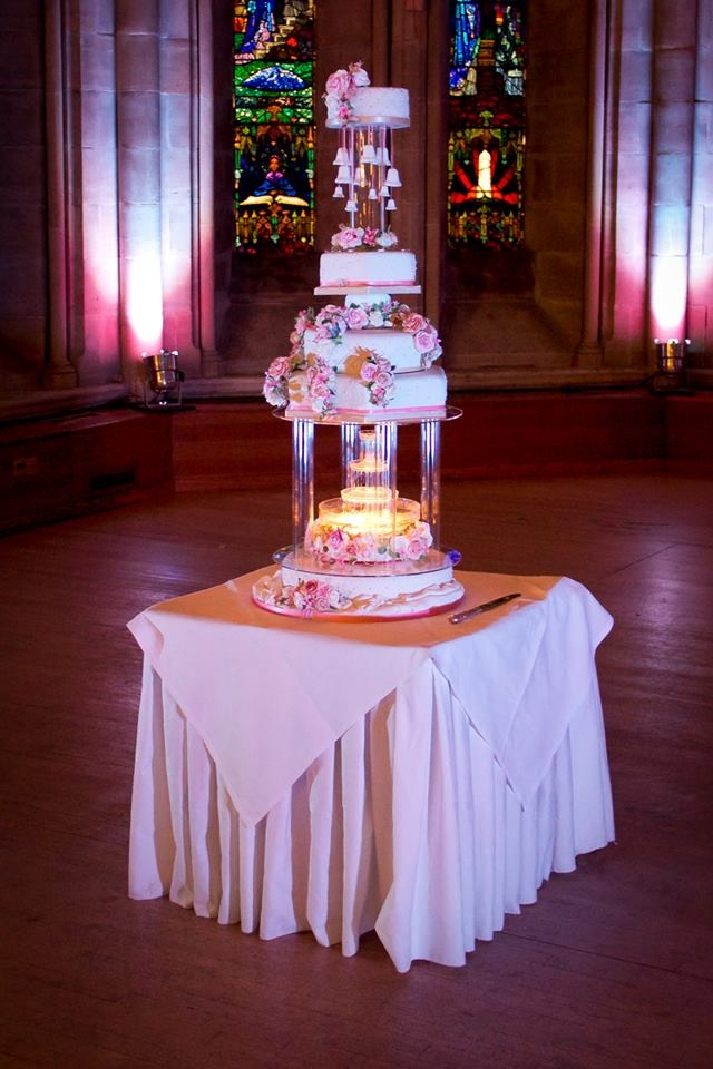 Kim & Marks Wedding cake