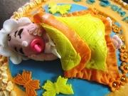 Newborn cake (welcome youyou)