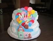pixar Up Birthday Cake