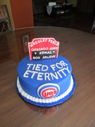 Chicago Cubs Grooms Cake
