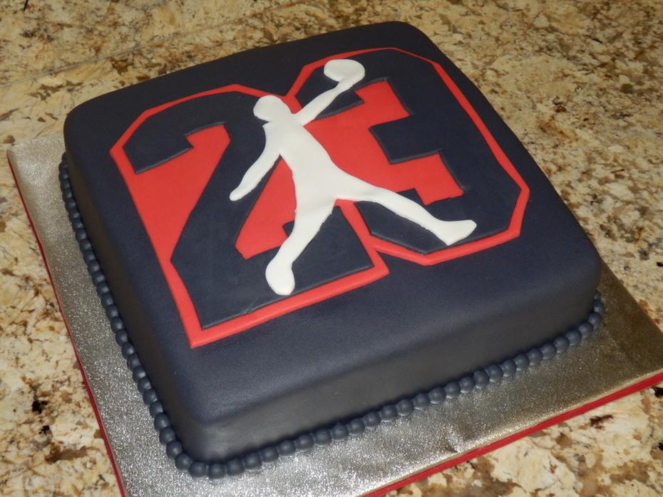 Fabulous Michael Jordan Birthday Cake Cake Decorating Community Cakes Funny Birthday Cards Online Elaedamsfinfo