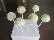 key lime pie cake pops