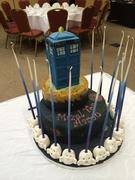 Dr. Who Bar Mitzvah Cake