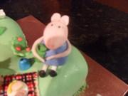Peppa Pig 2nd Birthday cake