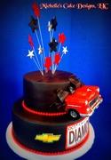 55 Chevy Cake